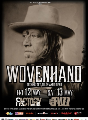 Wovenhand live in Athens