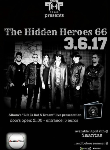 The Hidden Heroes 66 (GR) live in Athens