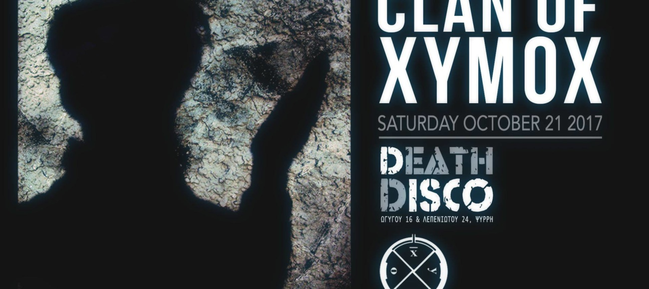 Clan Of Xymox (NL) live in Athens