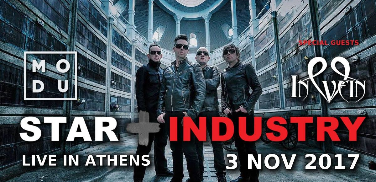 Star Industry (BE) – In Vein (GR) live in Athens – Cold Remembrance (GR)