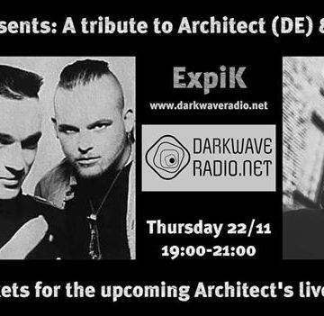 Grey Skies Radio Show Presents : A Tribute to Architect (DE) & And One (DE)+ Win 3 free tickets