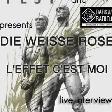 DIE WEISSE ROSE & L'EFFET C'EST MOI  Interview