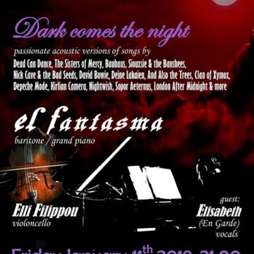 El Fantasma | Ethereal, Goth Recital [GR]  – @ Death Disco