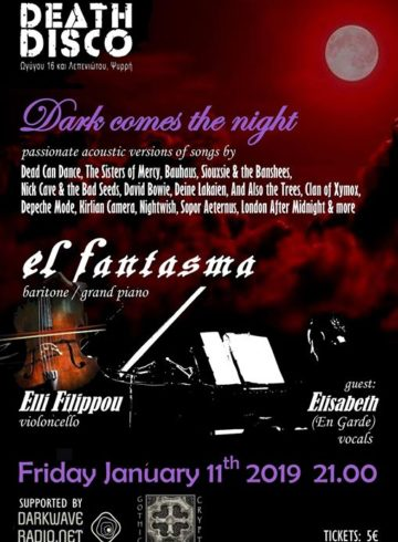 El Fantasma | Ethereal, Goth Recital [GR]  – @ Death Disco